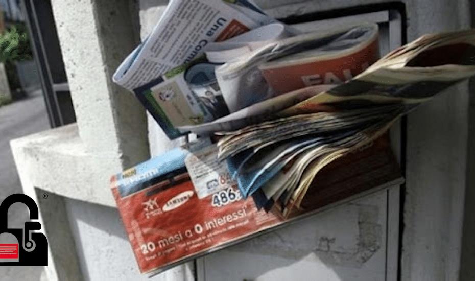 cassetta postale piena