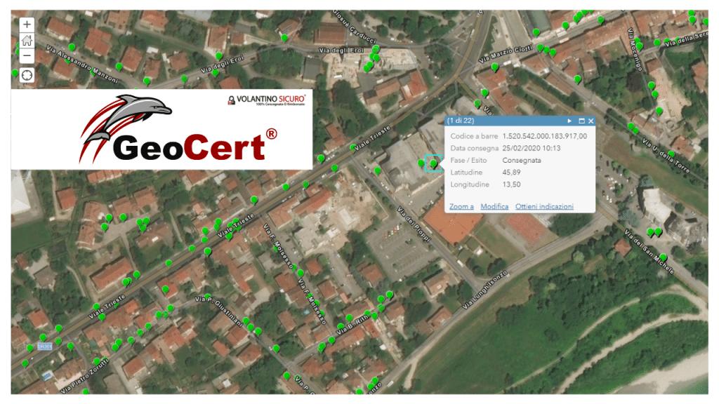 volantinaggio geocert consegna certificata univoca 2