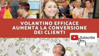 Volantino Efficace aumenta la conversione dei clienti