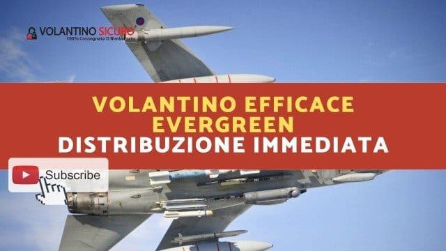 Volantino efficace Evergreen - Distribuzione immediata 640x