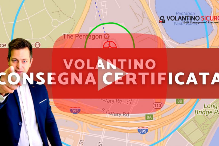 volantinaggio certificato geocert