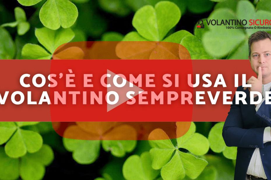 volantino evergreen sempreverde