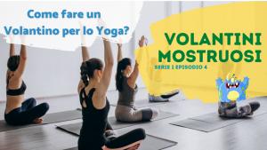volantino per lo Yoga